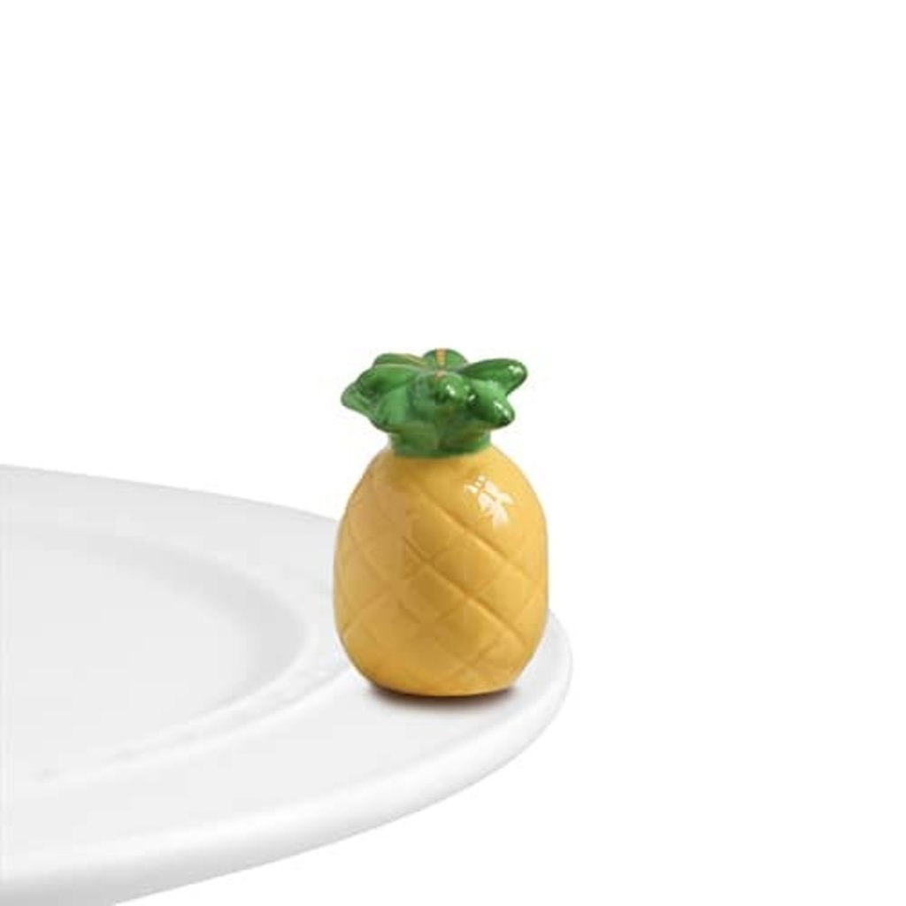 nora fleming welcome, friends! mini (pineapple)