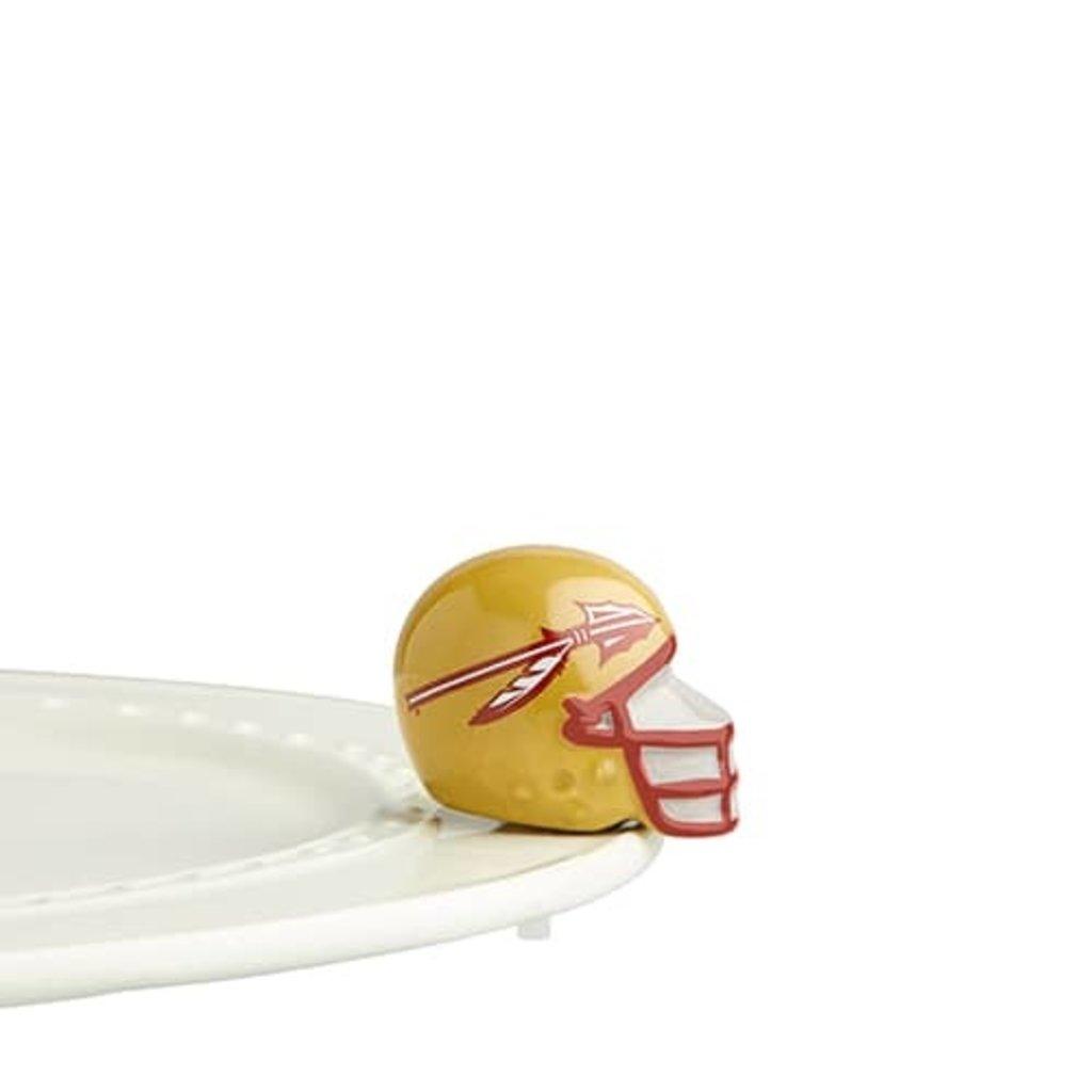 nora fleming florida state helmet mini