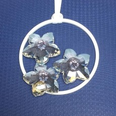 Swarovski SWAROVSKI 2013 SCS EVENT ORNAMENT BLOSSOM CRYSTAL ORNAMENT