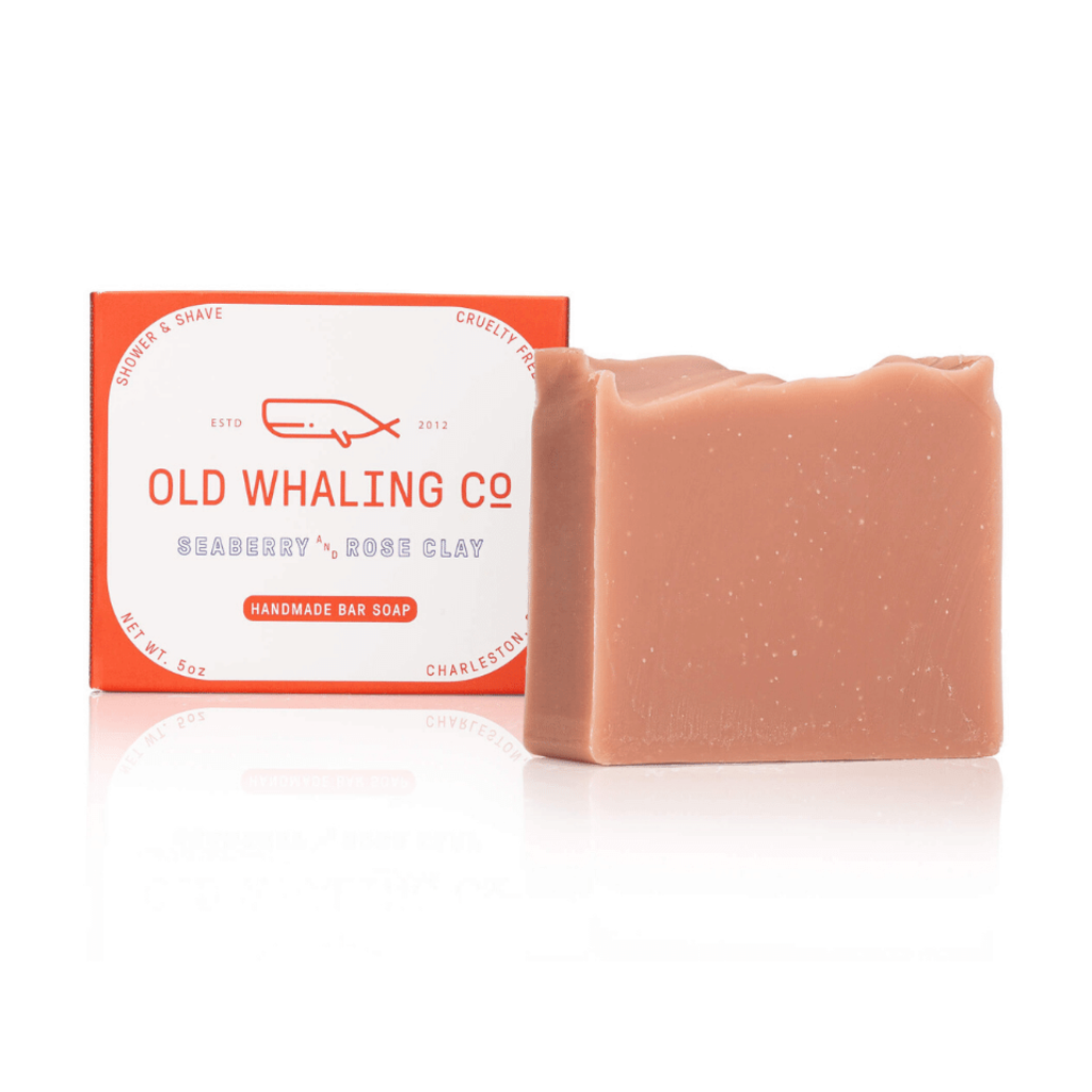 Old Whaling Company Seaberry and Rose Clay Bar Soap