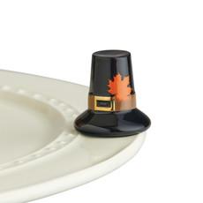 nora fleming we gather together mini ( pilgrim hat)