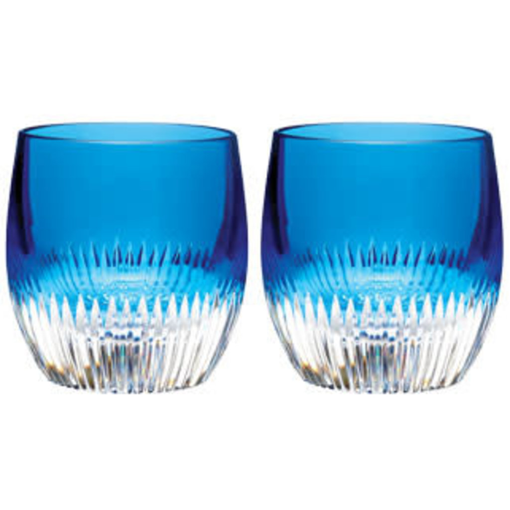 Waterford Mixology Argon Blue Tumblers s/2