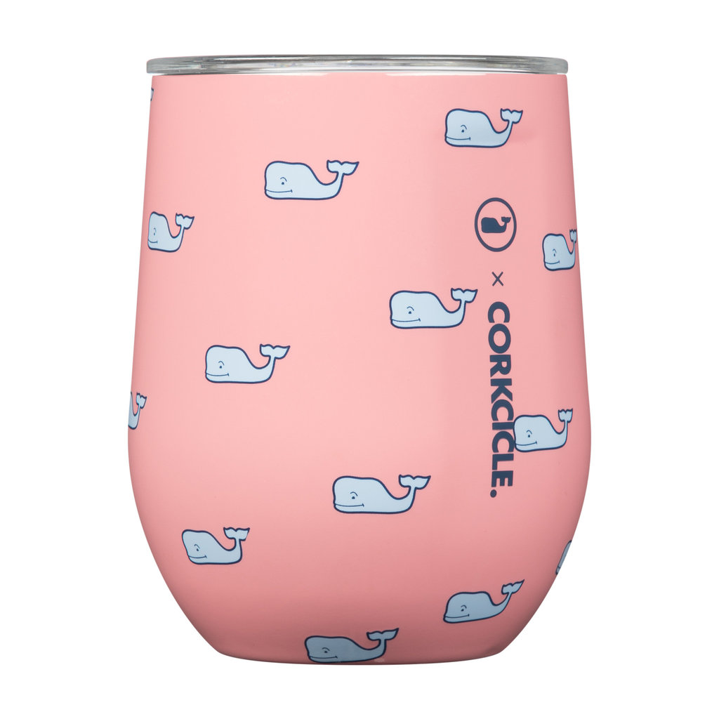 Corkcicle 12 Ounce Vineyard Vines Whales Repeat Wine Cup