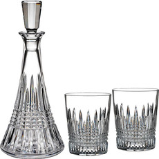 Waterford Lismore Diamond Decanter and D.O.F.  Set