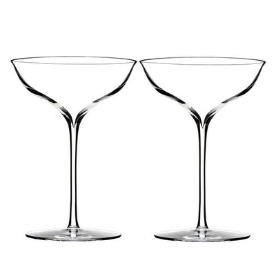 Waterford Elegance Champagne Belle Coupe, Pair