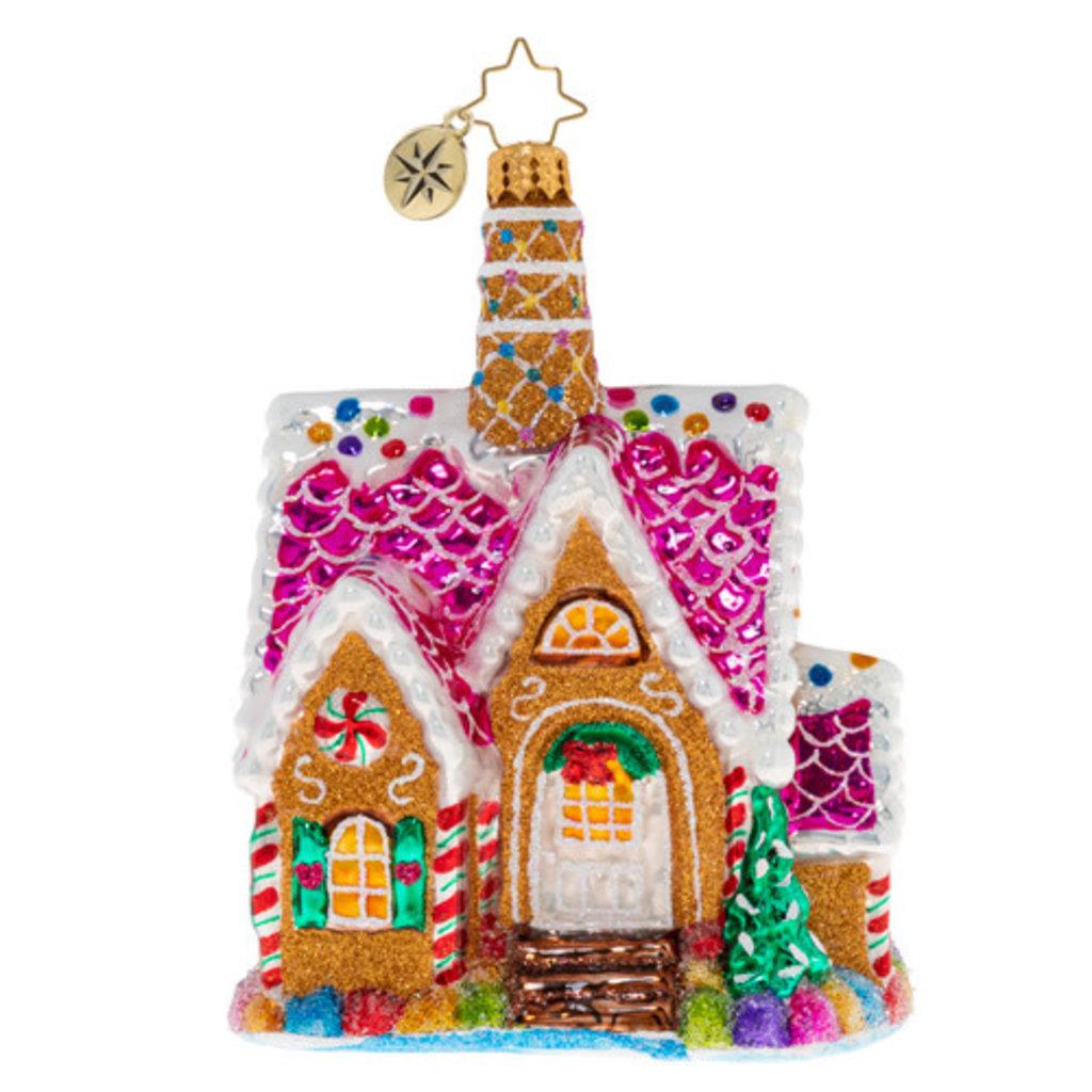 Radko Radko Ornament - A Delectable Dwelling