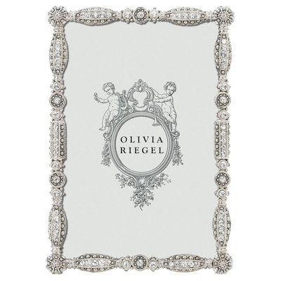 "Olivia Riegel SILVER ASBURY 4"" x 6"" FRAME"