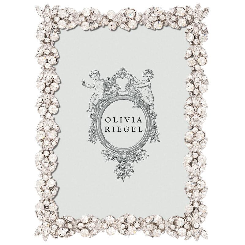 "Olivia Riegel SILVER VICTORIA 2.5"" x 3.5"" FRAME"