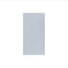 Vietri PAPERSOFT NAPKINS SEERSUCKER STRIPE BLUE GUEST TOWELS, Pkg of 20