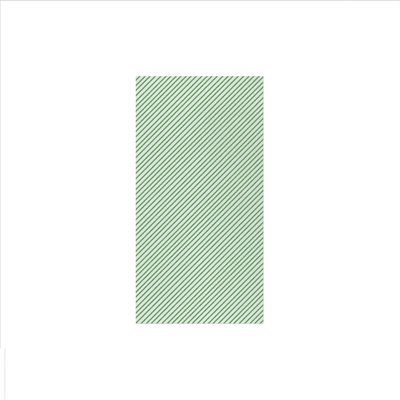 Vietri PAPERSOFT NAPKINS SEERSUCKER STRIPE GREEN GUEST TOWELS