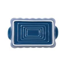 Vietri ITALIAN BAKERS BLUE SMALL RECTANGULAR BAKER