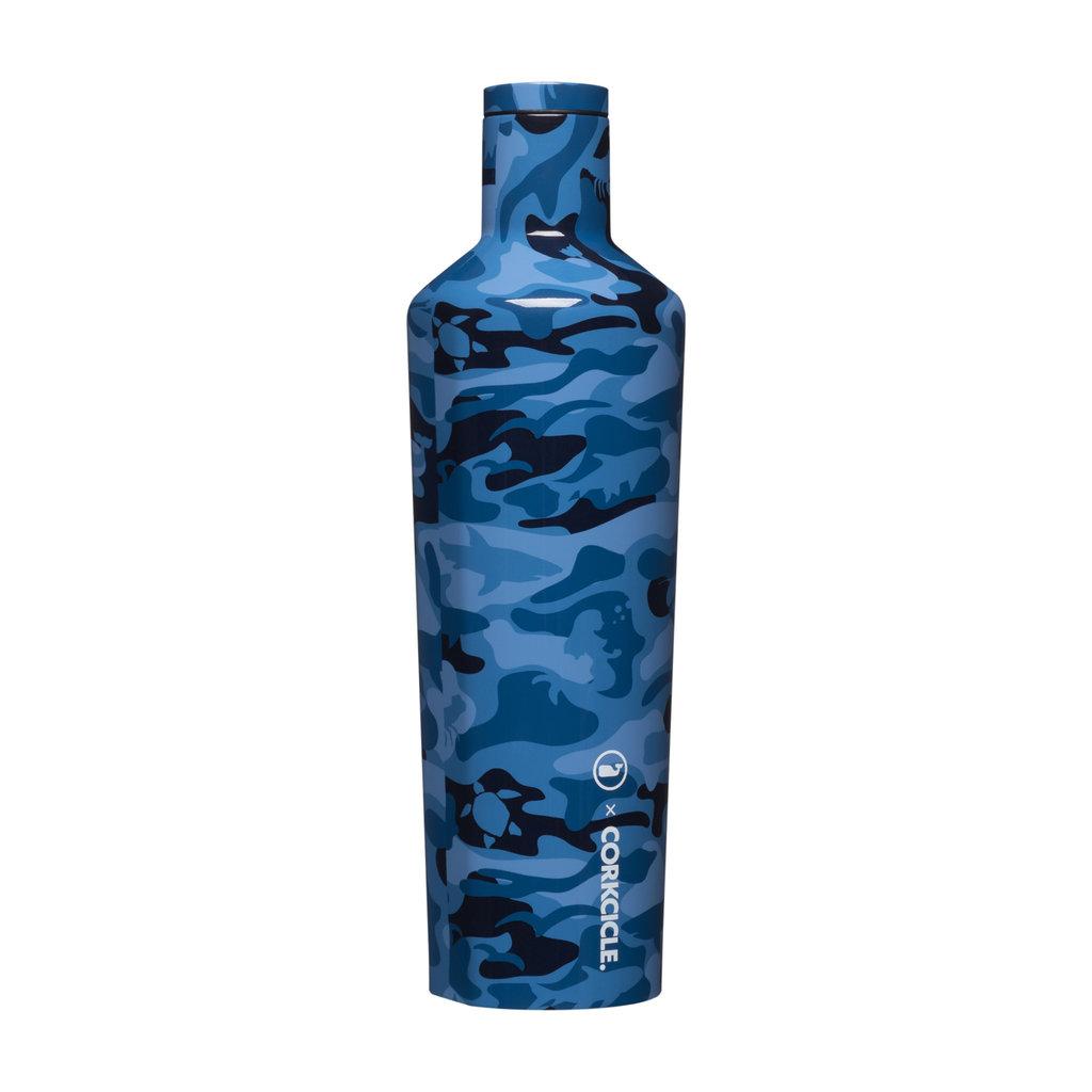 Corkcicle 25 Oz. Vineyard Vines Blue Camo Canteen