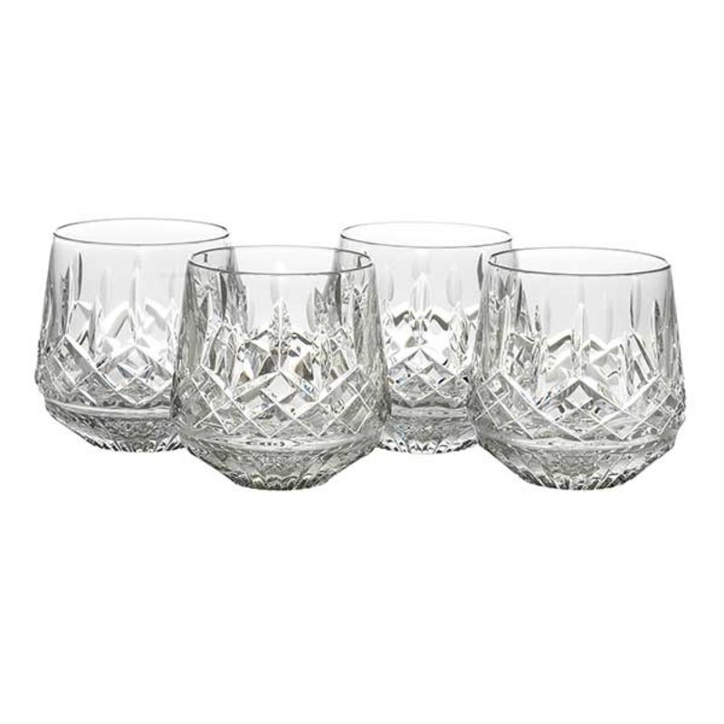 Waterford Lismore 9 Ounce Old Fashioned, Set of 4
