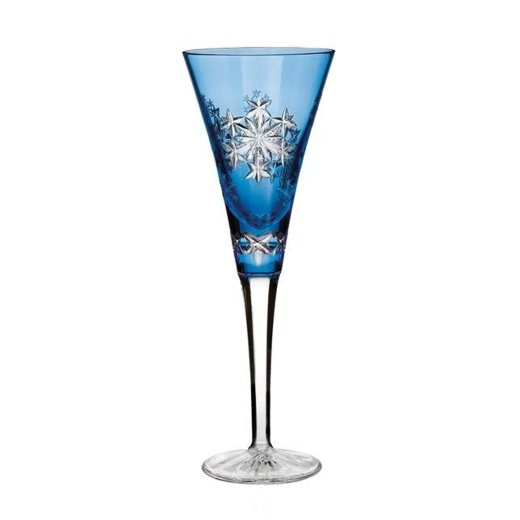 Waterford 2013 Snowflake Wishes For Goodwill Kerry Light Blue Prestige Flute