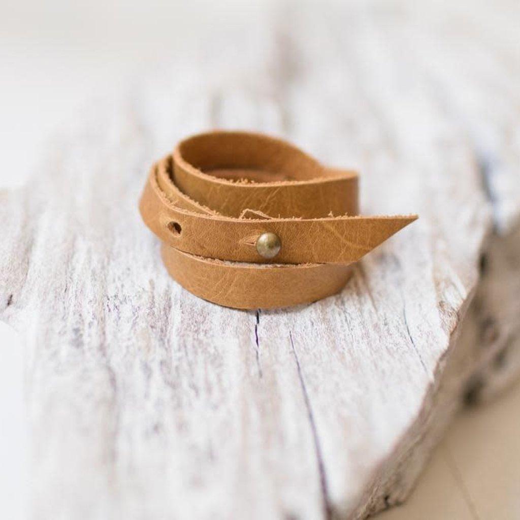 Leslie Curtis Jewelry Designs Angelina - Buckskin Wrap Bracelet