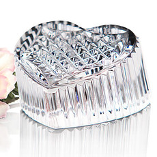 Waterford Waterford Crystal Heritage Heart Paperweight