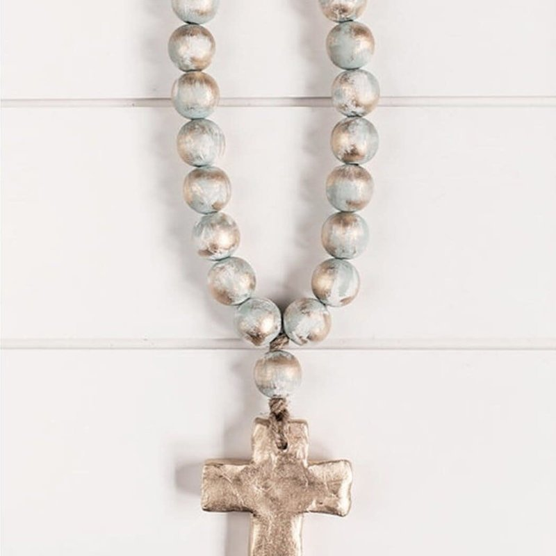 """The Sercy Studio Bitty  Blue Blessing Beads; 7.5"""""""