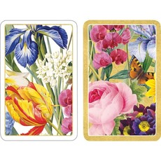 Caspari Playing Cards Jumbo Redoute Floral