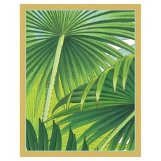 Caspari Palm Fronds Bridge Tally Sheets