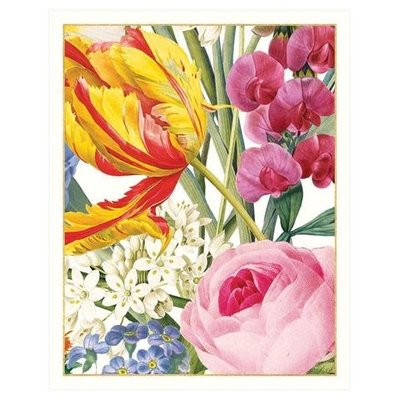 Caspari Redoute Floral Bridge Tally Sheets