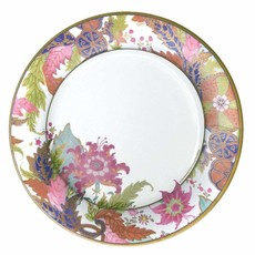 Caspari Tobacco Leaf Paper Dinner Plates in Ivory