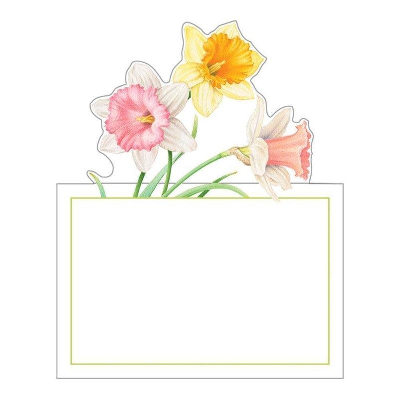 Caspari Daffodil Waltz Die-Cut Place Cards
