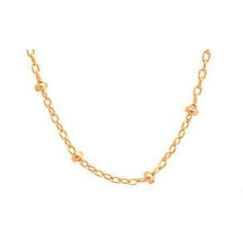 "enewton 15"" Choker Simplicity Chain Gold - 2mm Bead"