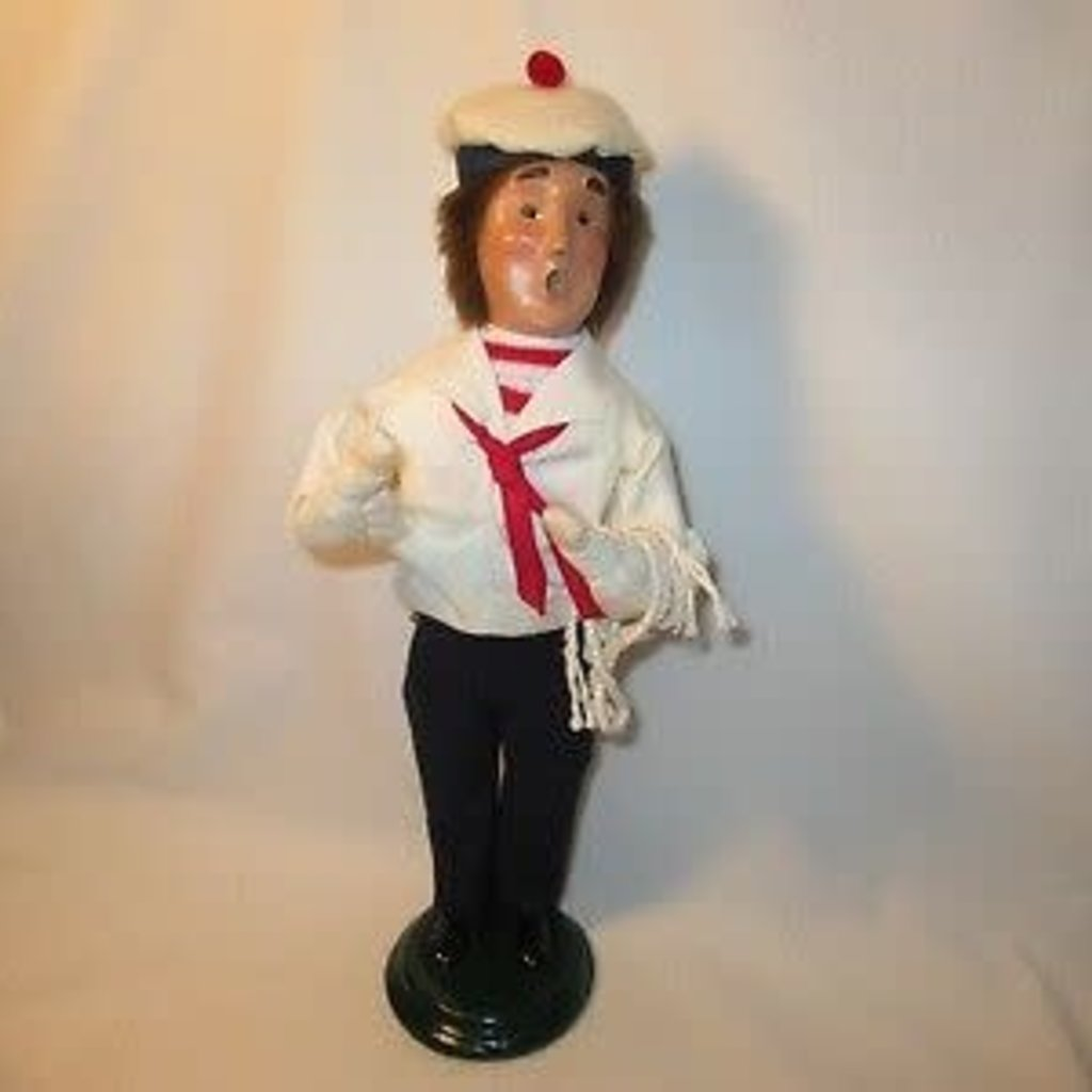 Byer's Choice Byers Carolers Nautical Sailor 1999