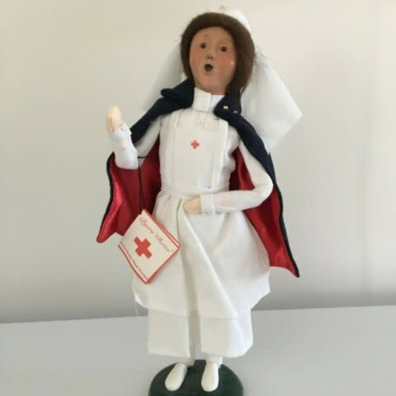 Byer's Choice American Red Cross Nurse 1999