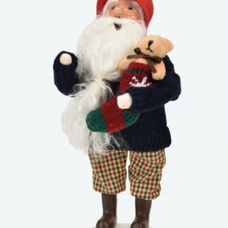 Byer's Choice Byers Carolers Gnome with Stocking