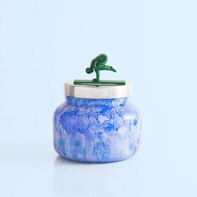 capri BLUE Blue Jean Watercolor Jar Candle, 19.0 oz