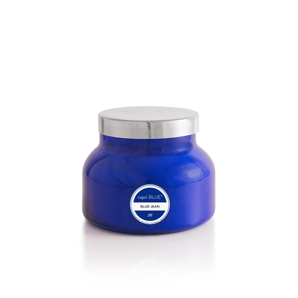 capri BLUE Blue Jean Signature Jar Candle 19.0 oz