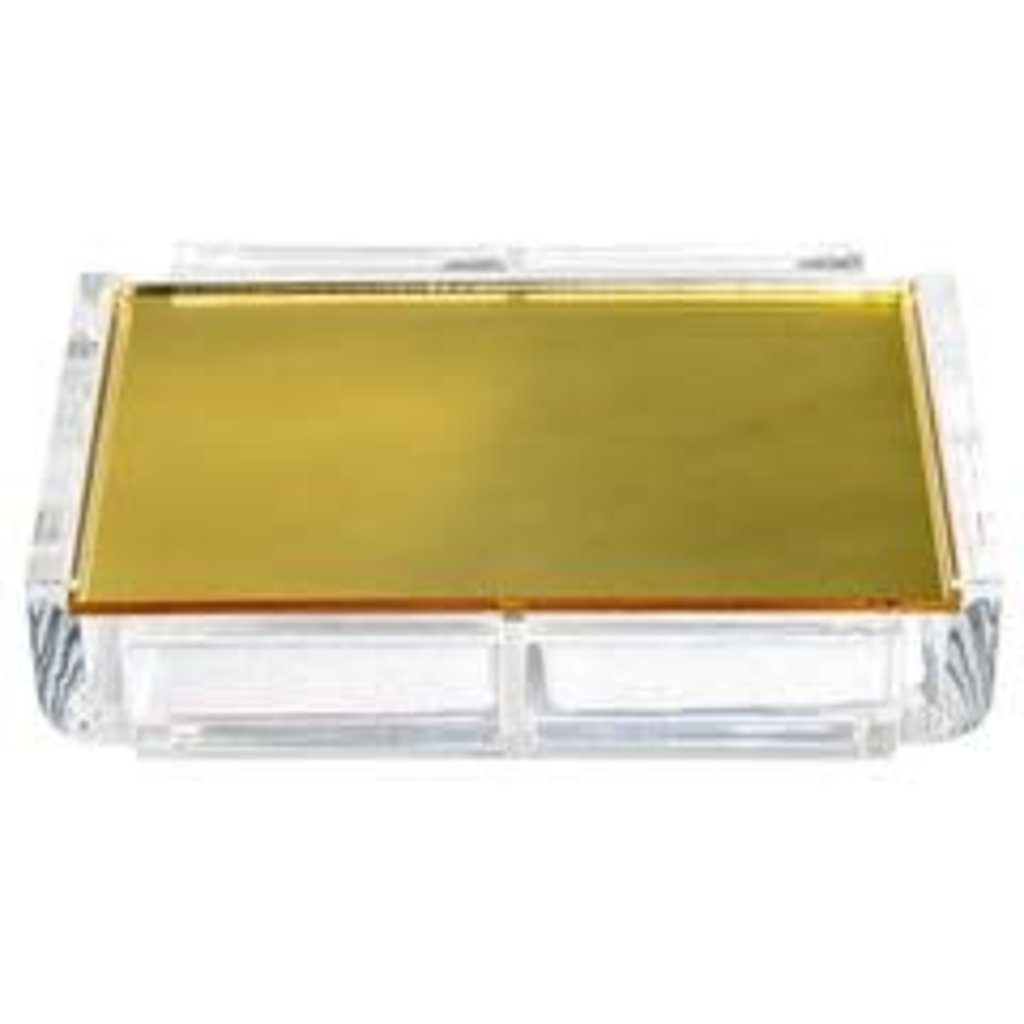 Luxe Dominoes Luxe Card Deck La Pinta Gold Mirror