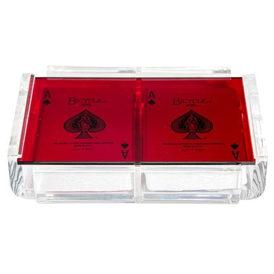 Luxe Dominoes Luxe Card Deck La Pinta Red
