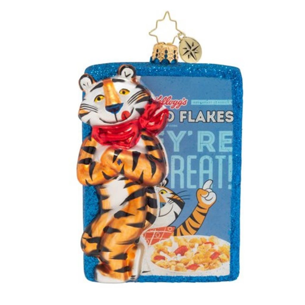 Radko Radko Ornament - Frosted Flakes They're Great!