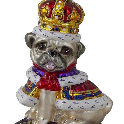 Radko Radko Ornament - Kingly Mr. Pug