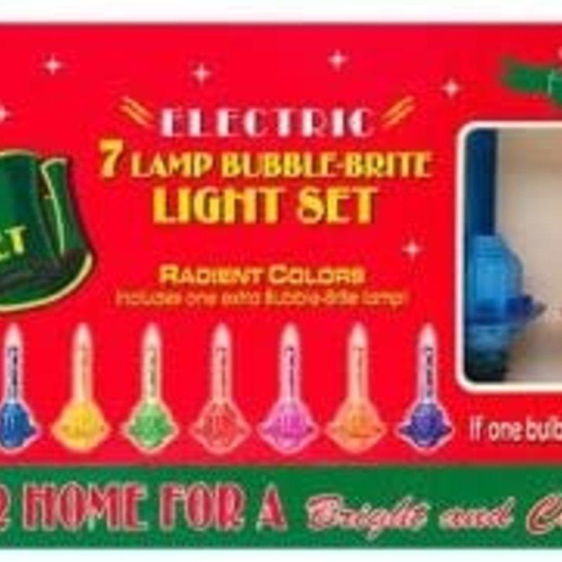 Radko Radko  - 7-strand Bubble Brite Light Set