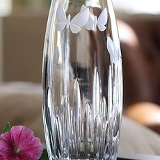 "Waterford Butterfly  11"" Vase"