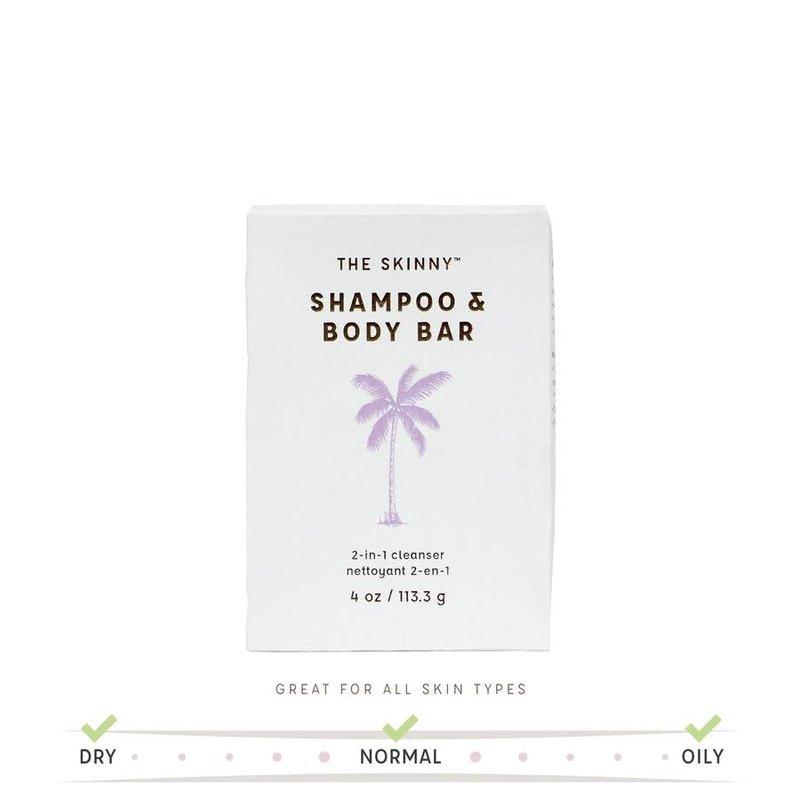 The Skinny Lavender Orange Shampoo & Body Bar