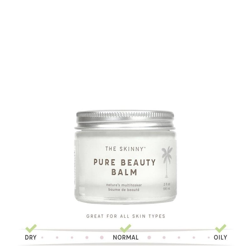 The Skinny Pure Beauty Balm - The Ultimate Multitasker- 2 oz