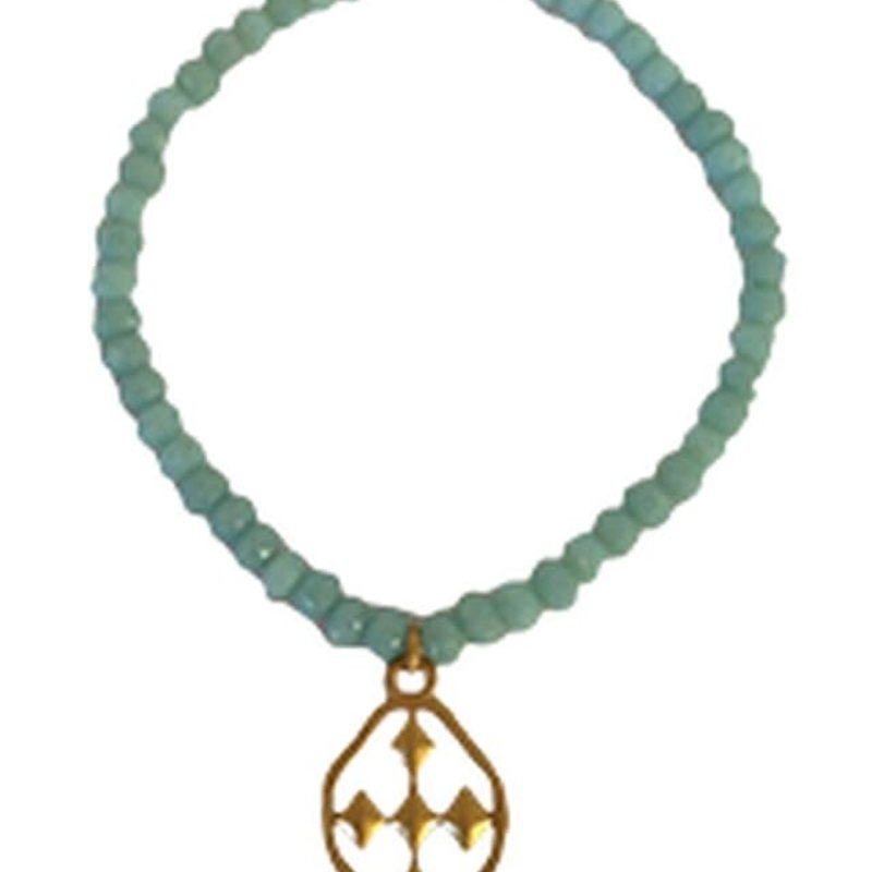 Gracewear Faithworks Beaded Prayer Bracelets-Turquoise