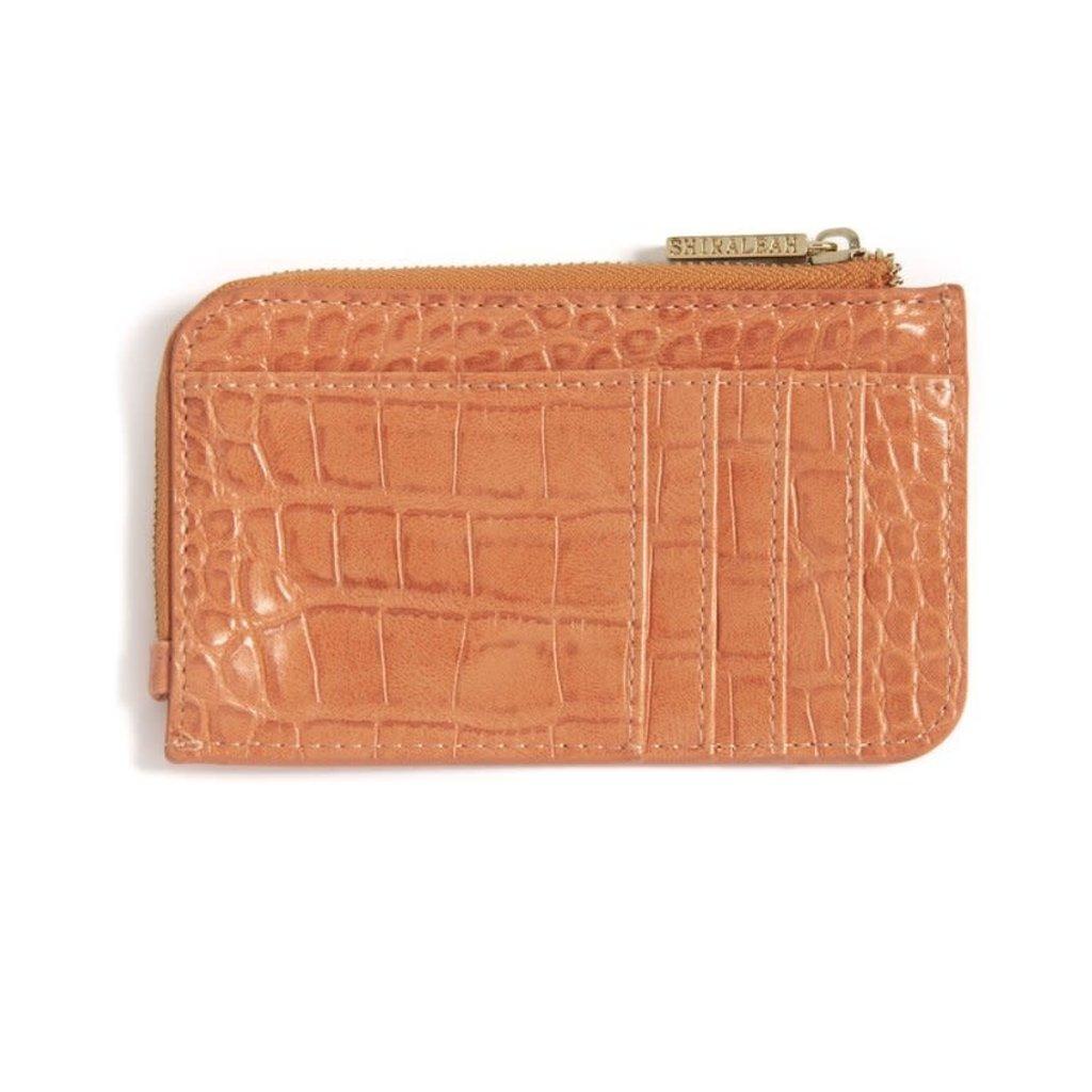 Shiraleah Carter Card  Case wt keychain, Orange