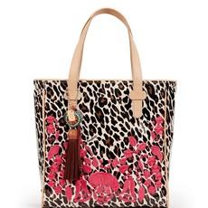 Consuela Classic Tote, Seffie Brown Leopard