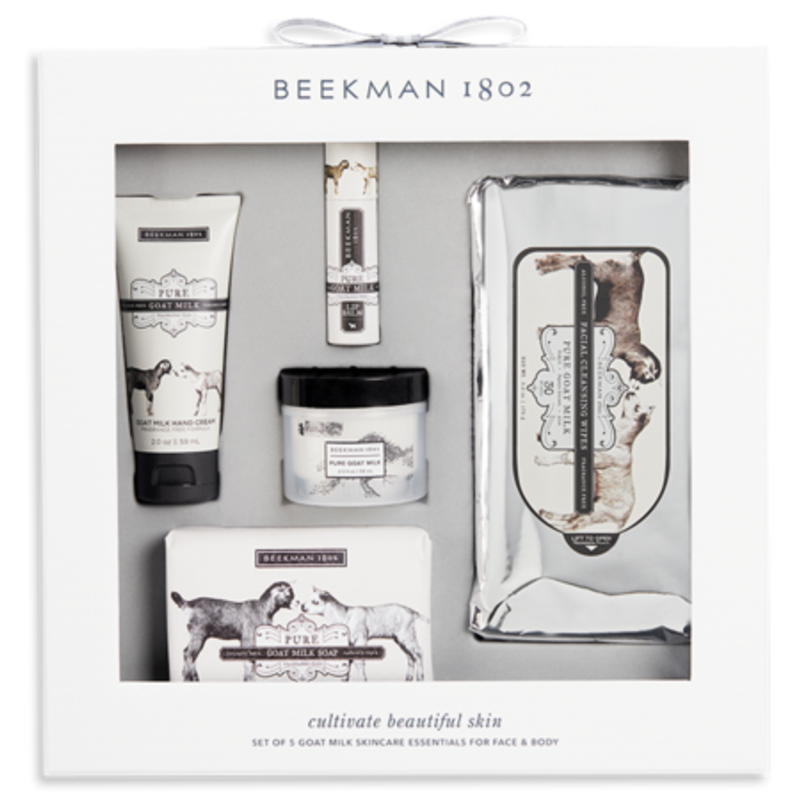 Beekman 1802 Inc Favorite Fragrance Set: Pure Goat Milk