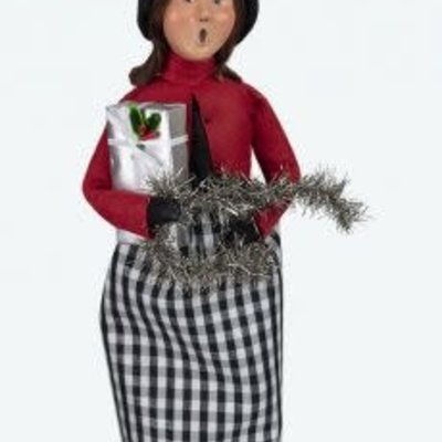 Byers Choice Byers Carolers Quinn Woman with Package