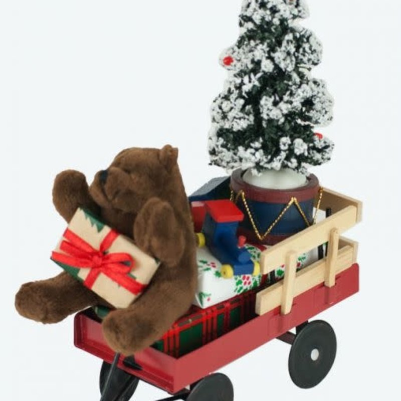 Byers Choice Byers Carolers Red Wagon with Toys