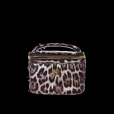PurseN Getaway Jewelry Case - Bronze Leopard