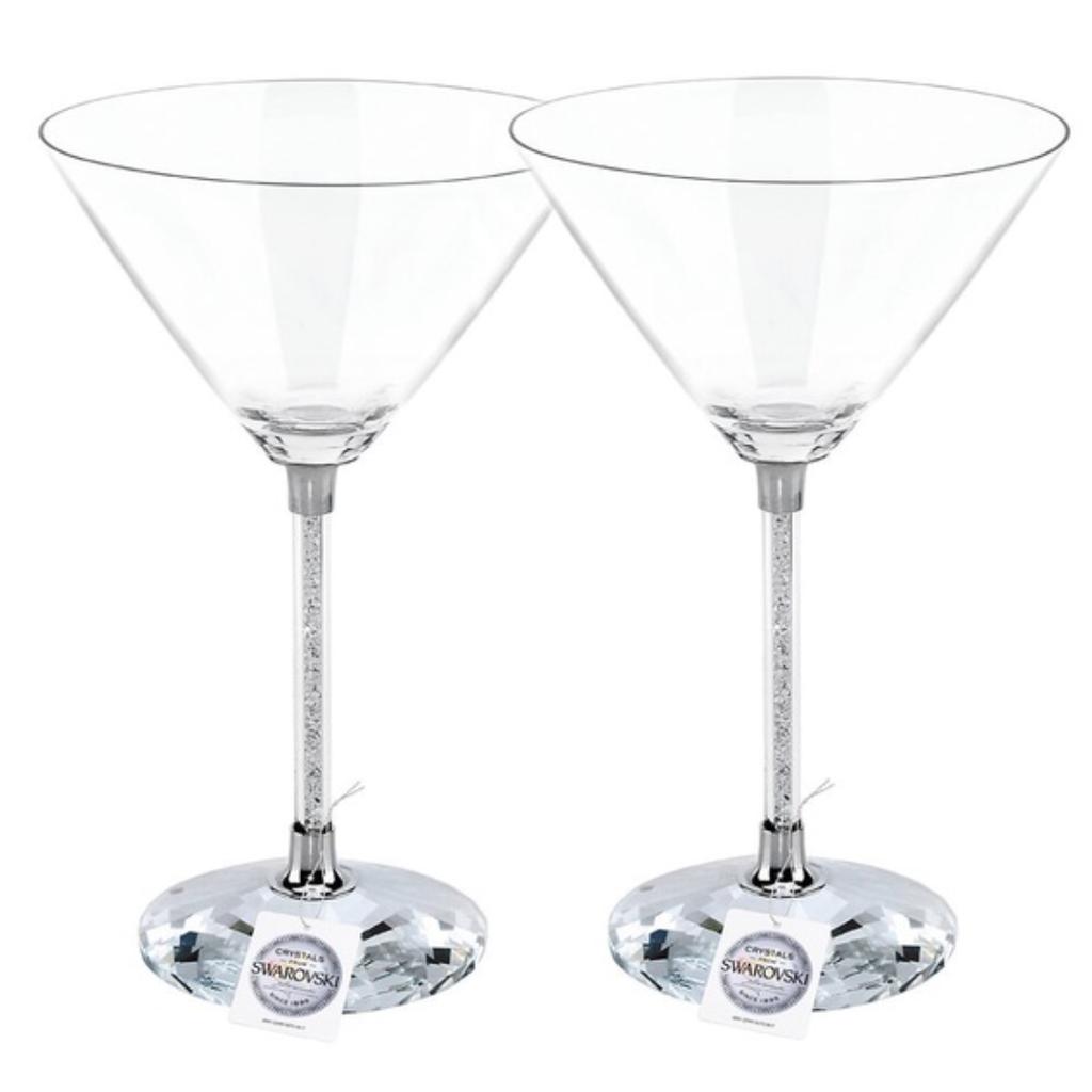 Swarovski Swarovski COCKTAIL Martini Crystalline (SET of 2) Glasses