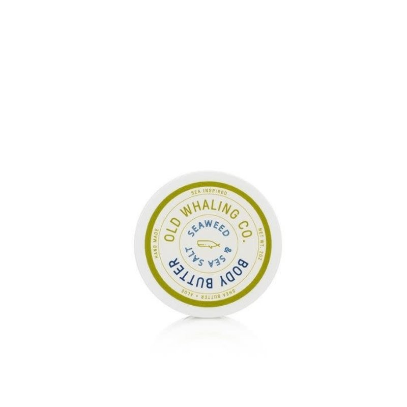 Old Whaling Company Seaweed + Sea Salt Travel-Size Body Butter 2oz.