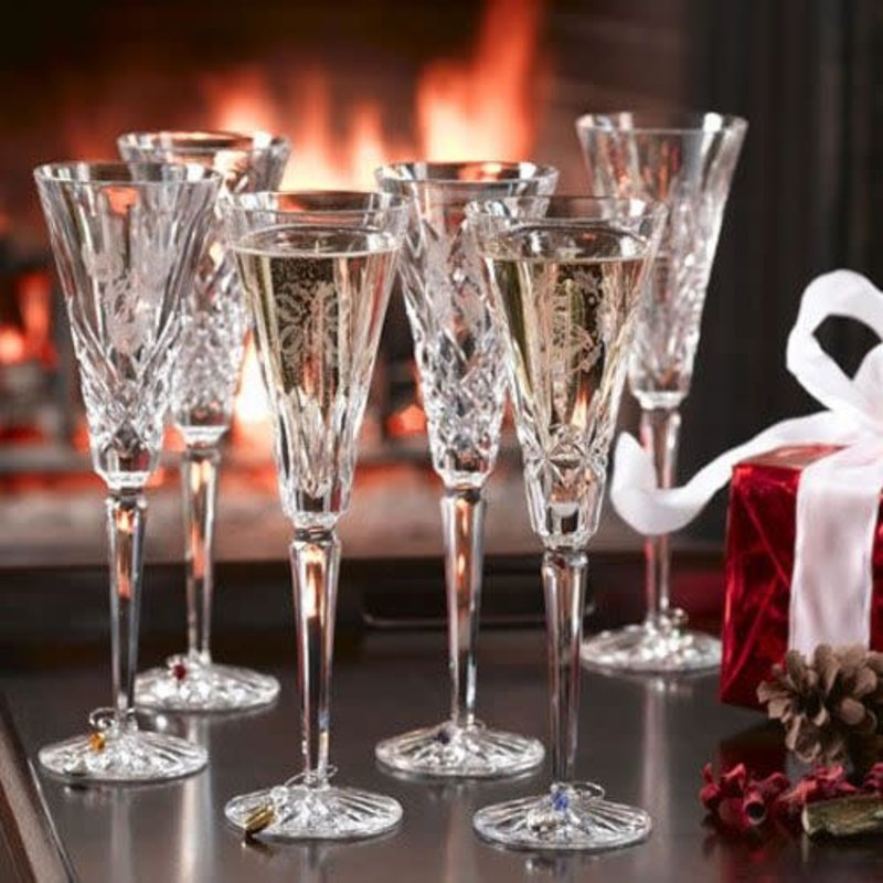 Waterford 12 Days Christmas Flute Set